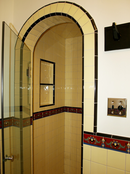 arched-shower