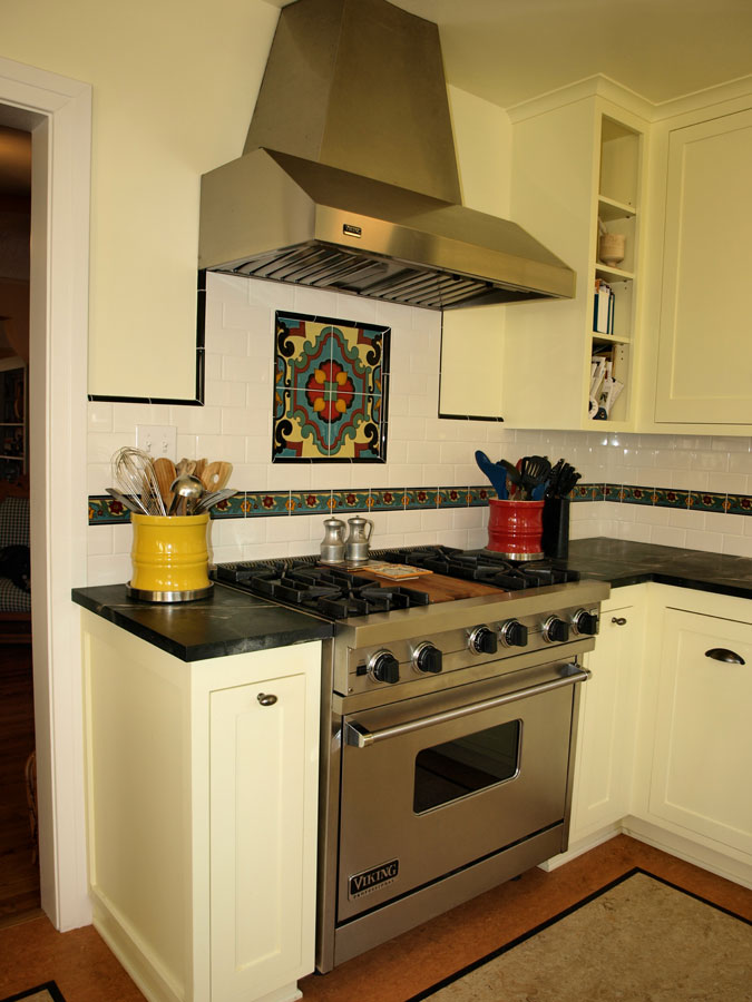 kitchen, Malibu Tile, soapstone counter tops